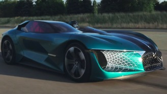 The Futuristic 1,360 HP DS X E-Tense Hypercar From The Year 2035 Is Real, Watch It In Action