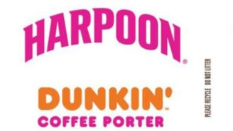 Grab A Cruller And Have An Extra Large Beer – Dunkin' Donuts And Harpoon Brewery Releasing New Porter