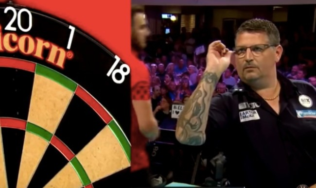 Gary Anderson perfect 9 darter
