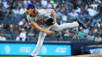 The Internet Reacts To Mets Pitcher Noah Syndergaard Heading To The DL After Contracting Bizarre Illness