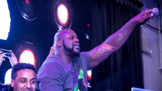 Shaq Trolled The Hell Out Of Charles Barkley At A DJ Gig In Washington D.C.