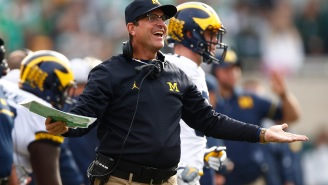Jim Harbaugh's Seat Is Heating Up After Losing To Michigan State