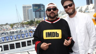 Kevin Smith Tells The Story Of How Seth Rogen Turned Him On To Weed