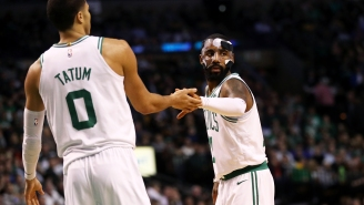 This Footage Of Kyrie Irving And Jayson Tatum Breaking Kids' Ankles At A Camp Is Awesome