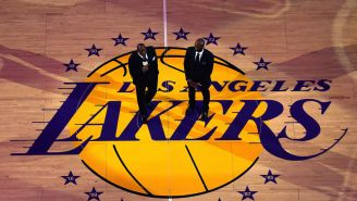 Photos Of The Lakers New Jerseys For Upcoming Season Have Leaked Online