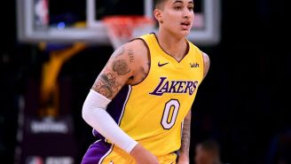 Kyle Kuzma Congratulates LeBron James On Signing With The Lakers, Gets Immediately Trolled By Fans Who Want Him Traded For Kawhi Leonard