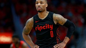 Rumors About Damian Lillard Wanting To Get Traded To The Lakers Are Starting To Heat Up