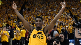 Utah Jazz Point Guard Donovan Mitchell Crashed A Random Fan's 4th Of July Party