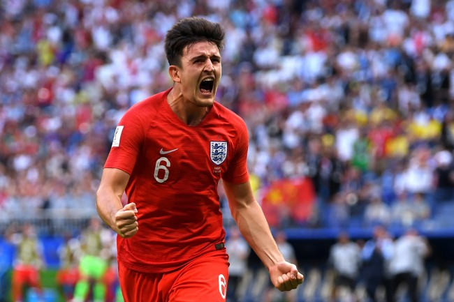 Harry Maguire England National Soccer Team