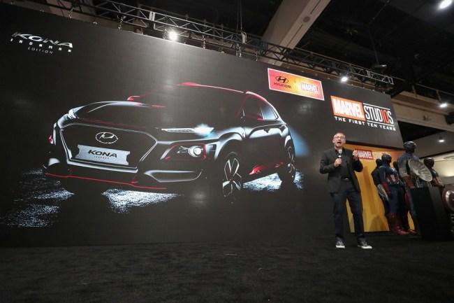 Hyundai Kona Iron Man Edition SUV