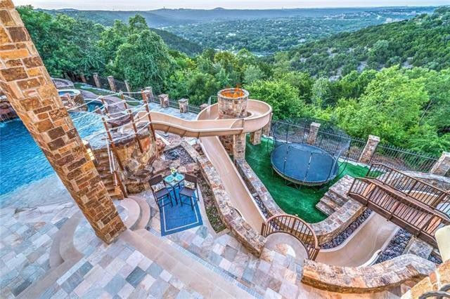 Jeff Kent Texas Mansion Water Park