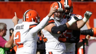 Joe Thomas Shared The First Thing That Comes To Mind For All 21 Browns QBs He Blocked For In His Career