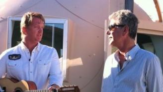 QOTSA Josh Homme Shares Sweet '****ing' Letter Anthony Bourdain Wrote To His 5-Year-Old Daughter