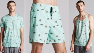 These Dope Golf-Inspired Swim Trunks Are For Dudes Who Spend More Time In The Sand Than David Hasselhoff