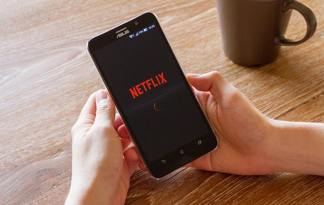 netflix app phone