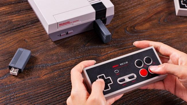 nes classic edition wireless gamepad