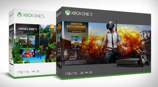 New Xbox One Bundles PUBG Minecraft
