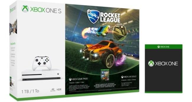 New Xbox One Bundles Rocket League
