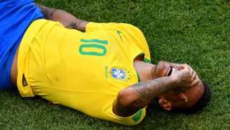 Neymar Has Wasted An Absurd Amount Of Time Lying On The Field During The World Cup