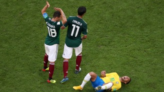 The Internet Reacts To Neymar's 'Absolutely Pathetic' Flopping Display In Win Over Mexico