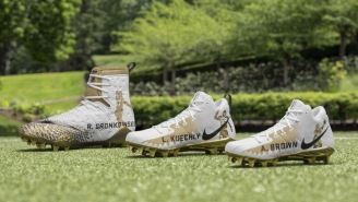 Nike Honors Its Top-Rated 'Madden NFL 19' Players With Some Sick Custom Gold Cleats