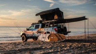 Nissan Has Done It Again As Now They've Created The Ultimate Beach Truck For Surfing And Fishing
