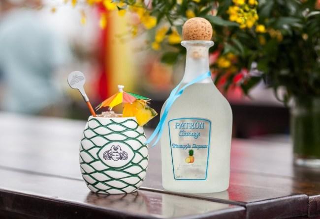 patron pineapple liqueur