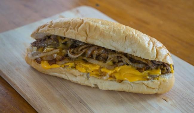 Philadelphia Cheesesteak Sandwich