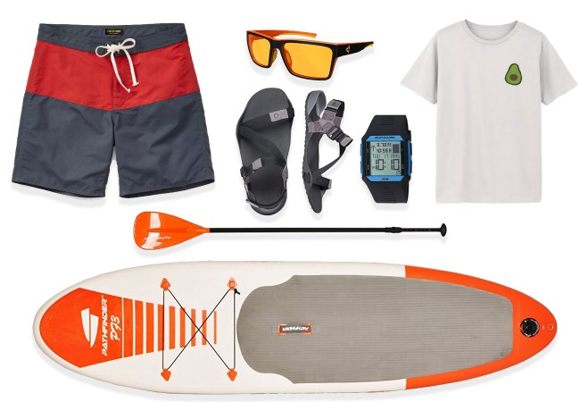 STEAL THIS LOOK Stand Up Paddleboard