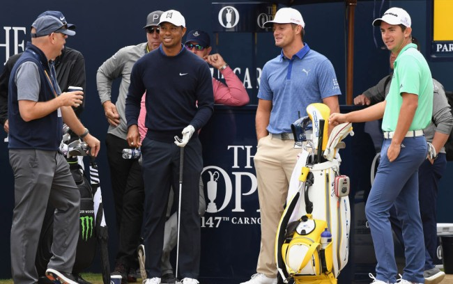 Tiger Woods British Open Championship props