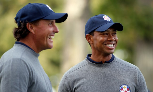 tiger woods phil mickelson rivalry relationship