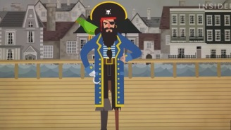 Here's The History Of Why Pirates Always Have Talking Parrots On Their Shoulders In Pop Culture