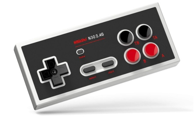 wireless controller gamepad nes classic edition