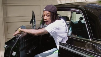 An Inside Look At Wiz Khalifa's $4.6 Million Los Angeles Crib Complete With A 'Weed Wall'