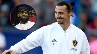 Zlatan Ibrahimović Issues Very Zlatan-Like Compliment To Fellow LA Transplant LeBron James