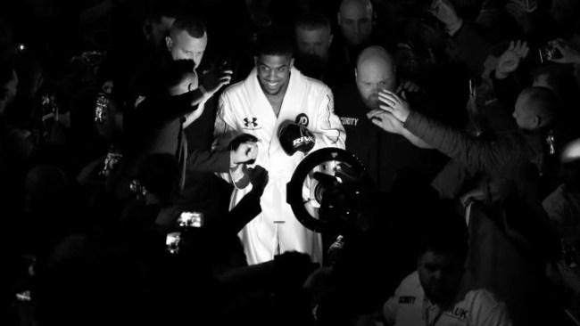 Anthony Joshua Workout Heavyweight Boxing Champion
