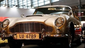 Aston Martin Is Bringing Back James Bond's Most Iconic Car Complete With A Set Of Functioning Gadgets