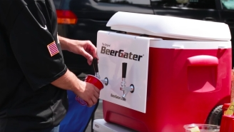 The Portable BeerGater Serves Any Brew On Tap Without A Keg And Tailgates Will Never Be The Same