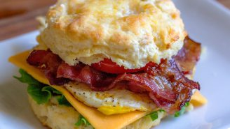 There's A Scientific Reason A Breakfast Sandwich Might Be The Best Hangover Cure Out There