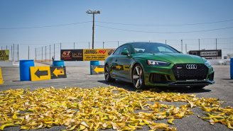 Road Test: Will Banana Peels Cause A Real Car To Wipeout Like In Mario Kart?