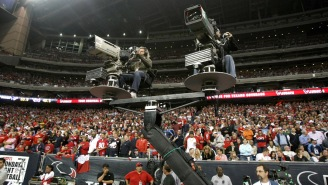 ESPN Is Going To Put Booger McFarland On A Crane Over The Line Of Scrimmage For Monday Night Football