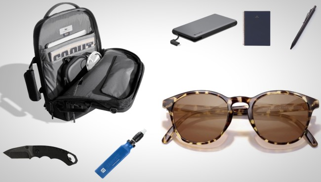 everyday carry essentials backpack gear