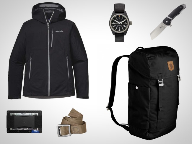 everyday carry essentials rain gear weather resistant