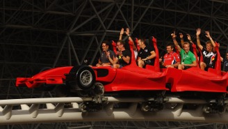This Ferrari-Themed Roller Coaster Is The World's Fastest And You Can Take It For A Spin In VR