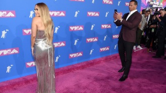 A-Rod's Reaction To J-Lo's Performance At The VMAs Was The Most Meme-able Moment Of 2018 (So Far)