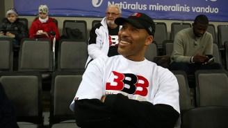 Brandon Phillips Claims LaVar Ball's JBA League Owes Him Two Paychecks, Aren't Answering His Phone Calls/Emails Regarding Payment