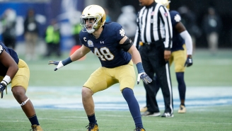 Notre Dame Will Wear Non-Gold Helmets For The First Time Since The 1940s In November's 'Shamrock Series'
