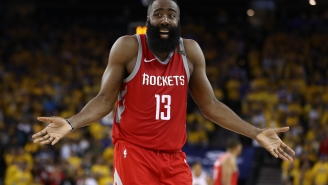 Please Don't Body Shame James Harden For Rocking An Offseason Dad Bod