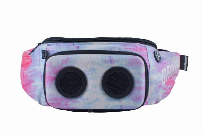 jammypack fanny pack bluetooth speaker