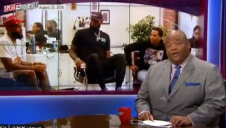 Marcellus Wiley Issues Stern Warning Towards Jason Whitlock For Calling LeBron James 'Ratchet' And 'Ghetto'